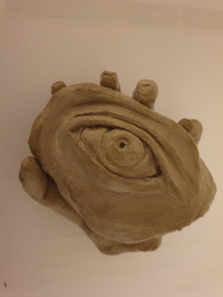 Feeling Alive (2020) - Clay by Janine Moffat