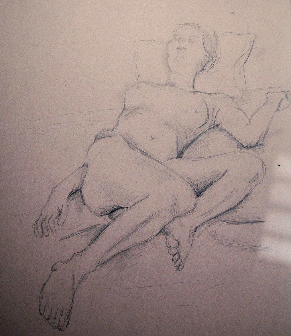 Life Drawing (2012) - Pencil on Card