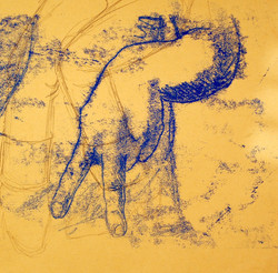 Life Drawing (2012) - Monoprint
