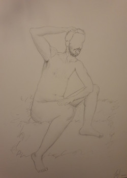 Life Drawing (2020) - Pencil