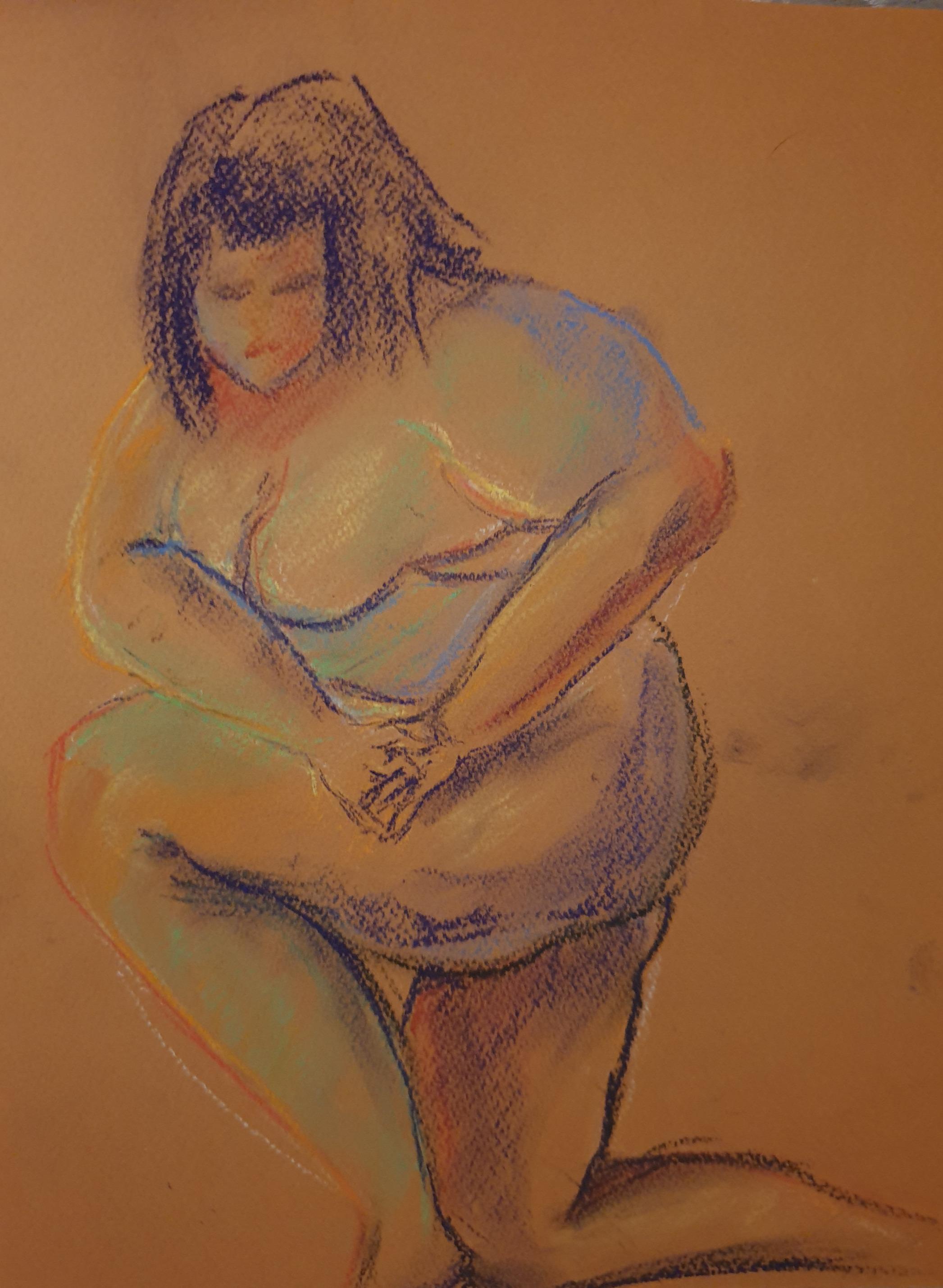 Life Drawing (2020) - Pastels