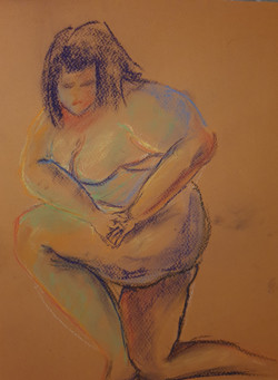 Life Drawing (2020) - Pastels