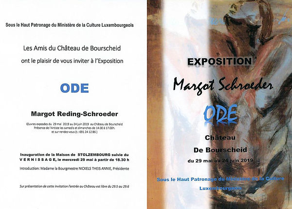 Margot Reding-Schroeder -  Invitation Bo