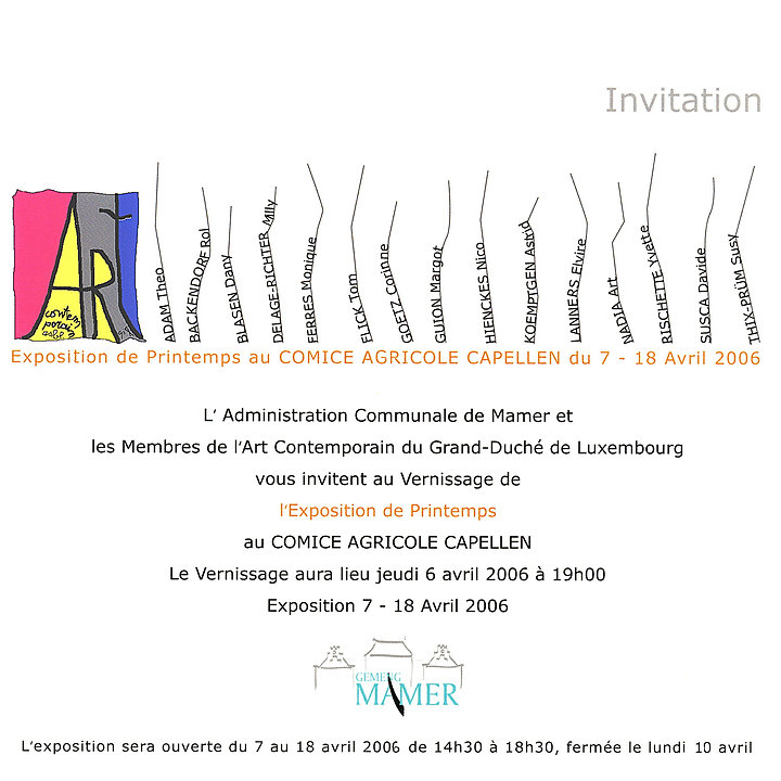 ARC - 2006 - Capellen - INVITATION.jpg