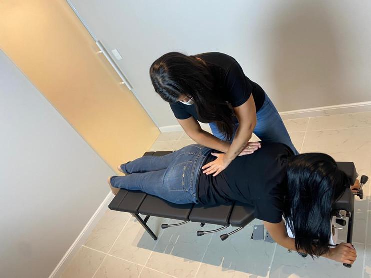 ajuste de quiropraxia na moca