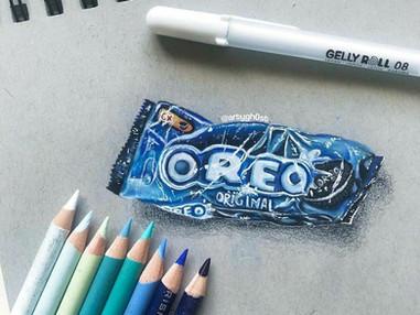 Oreo Art 😍
