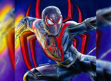 Super Spiderman Art