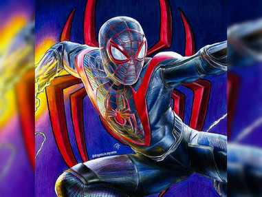 Super Spiderman Art