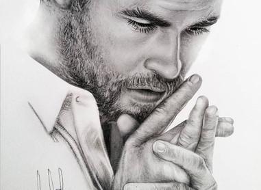 Chris Hemsworth Portrait