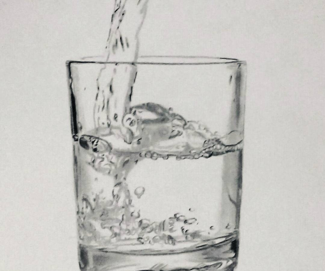 Glass of water Art