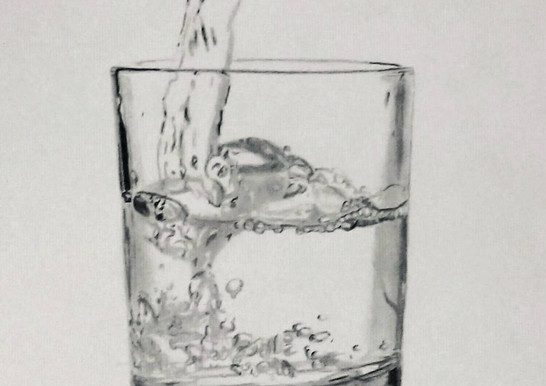 Glass of water Art