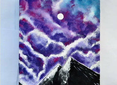 Cloudy Sky Painting