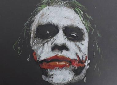 Stunning Joker Art - Heath Ledger