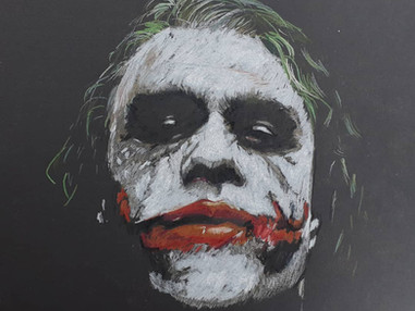 Stunning Joker Art - Heath Ledger