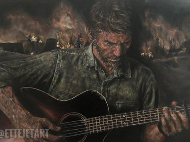 Joel Art by ettejetart