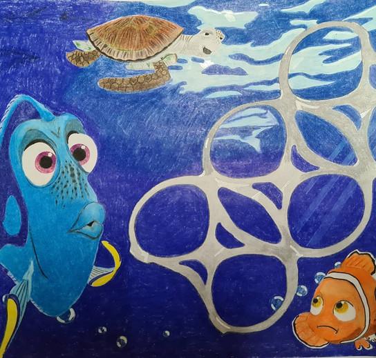 Nemo plastic Ocean