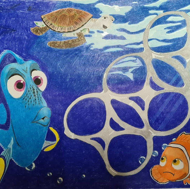 Finding Nemo Plastic Ocean