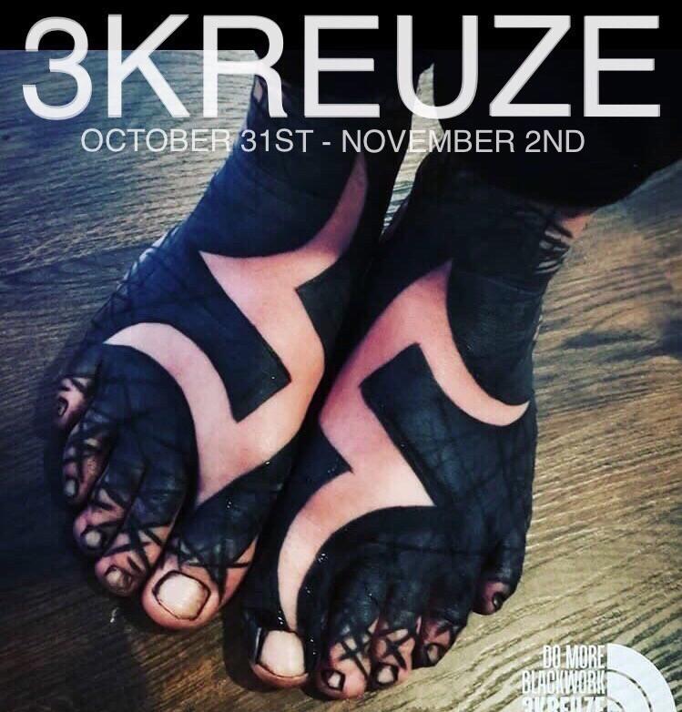3KREUZE - Brutal BlackWork in Avant-garde Stockholm Tattoo Studio