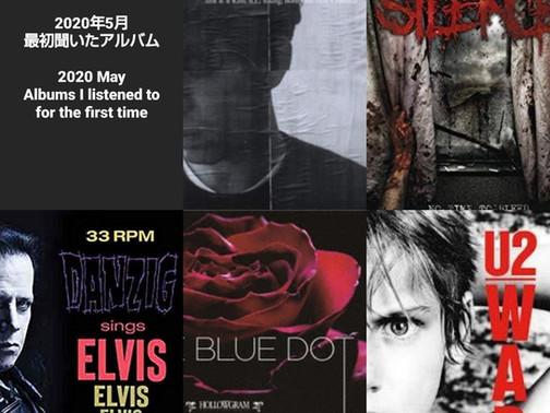 May Album Wrap-up / 5月のアルバムまとめ