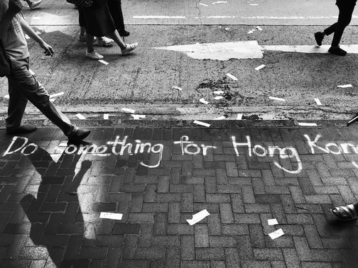 Why don't we protest for Hong Kong? / なぜ香港のためにデモをしないのか