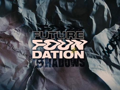 FUTURE FOUNDATION -「DAWN」: 3 way band charity single Crystal Lake / Shadows/ Noisemaker