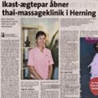 Sian Thai Massage ny klinik åbner i Herning