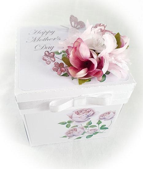 Birthday Explosion Box, Exploding Birthday Card, 3d Card, Birthday Keepsake Card