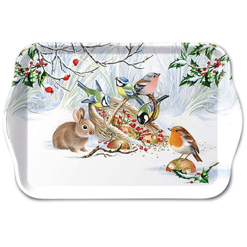 Small Decorative Tray - Winter Treat