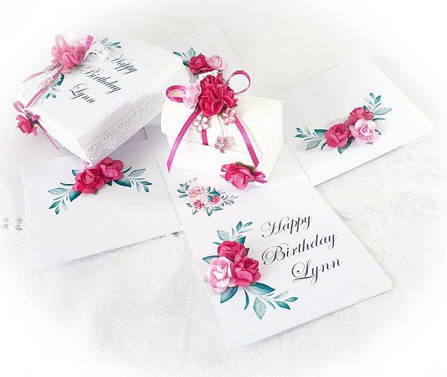 Chest Birthday Explosion Box, Exploding Birthday Card, 3d Card