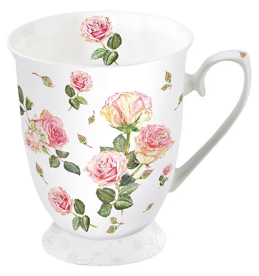 Porcelain Cup - Rosie White