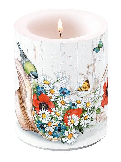 Decorative candle Large - Summer Hat