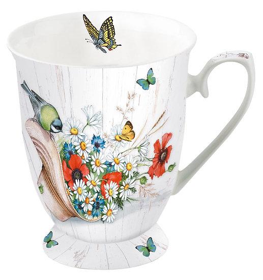 Porcelain Cup - Summer Hat