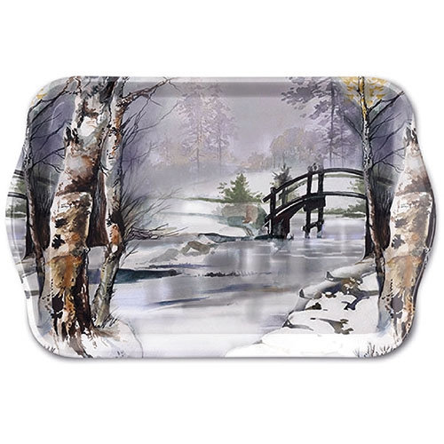 Small tray - It`s Wintertime