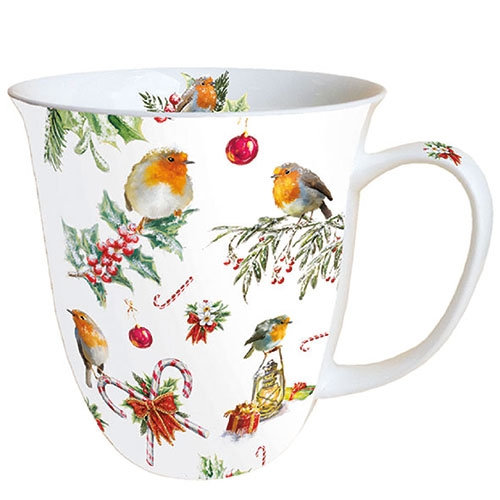 Porcelain Cup - Christmas Ornaments