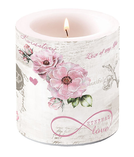 Decorative candle small - Eternal Love