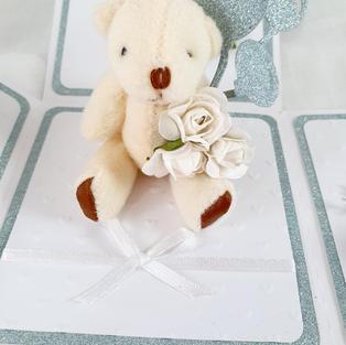 Cute Teddy Exploding irthday Card