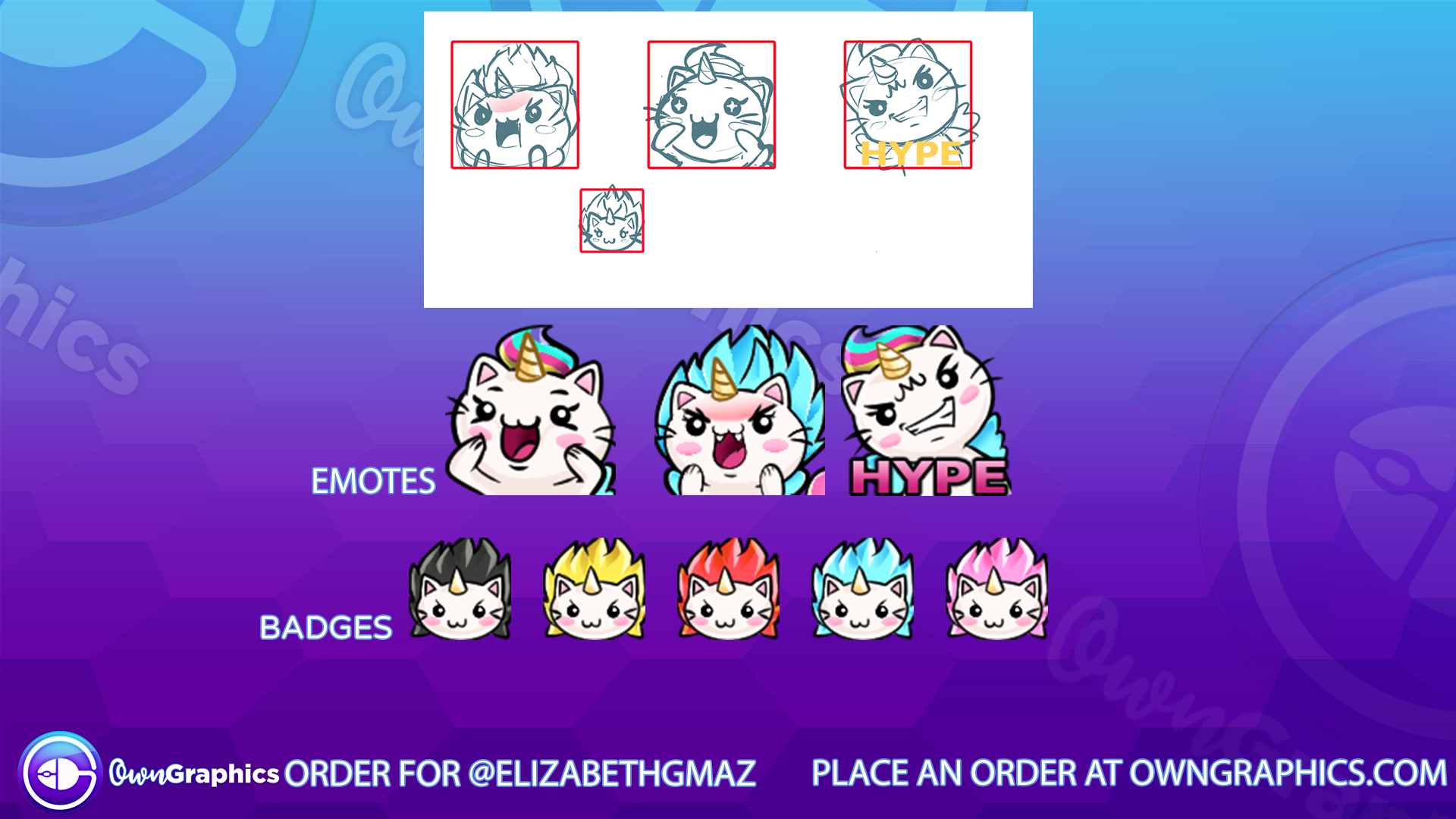 Custom emotes for gmazgul