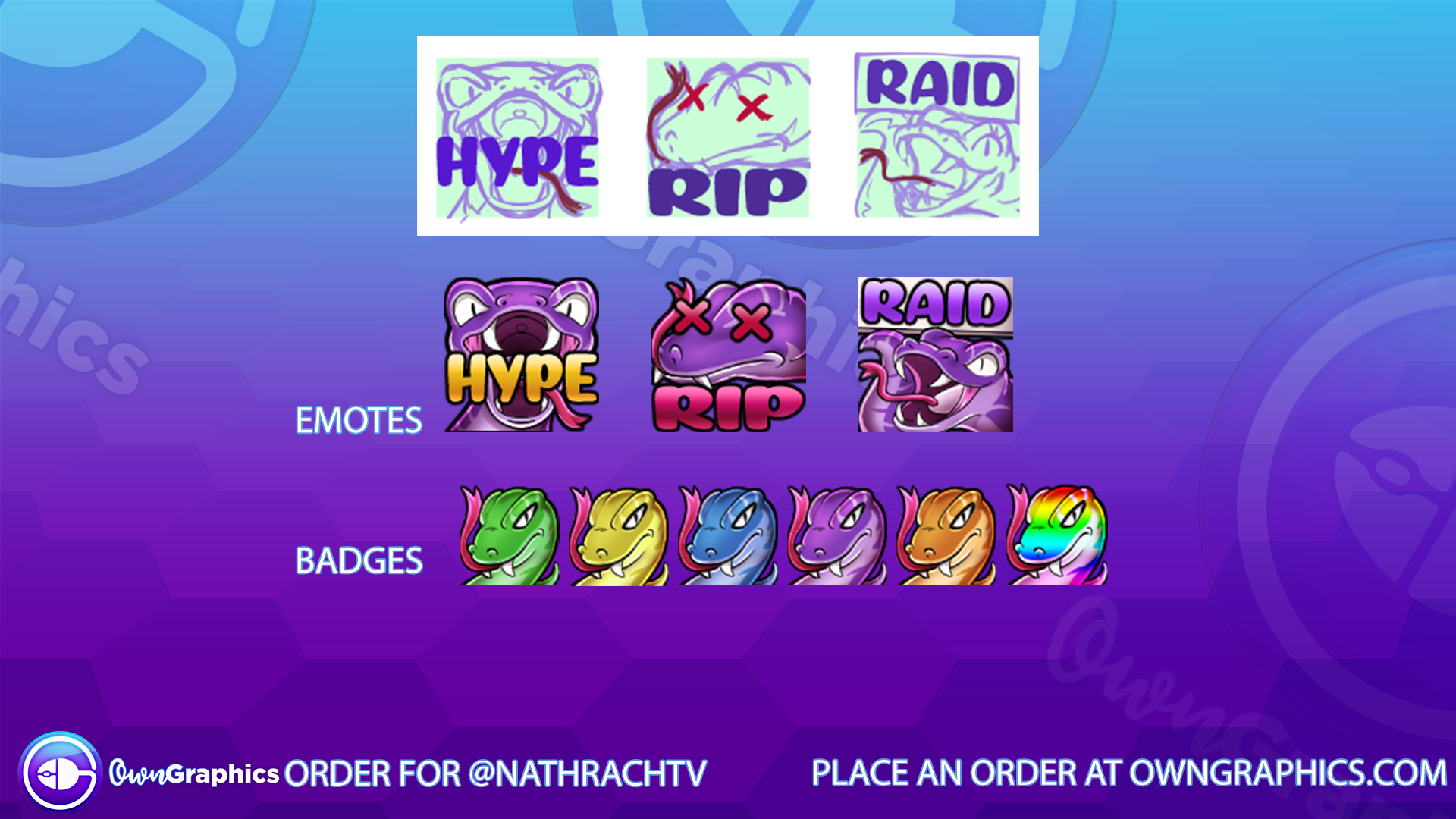 OwnGraphics Order nathrach  Emotes