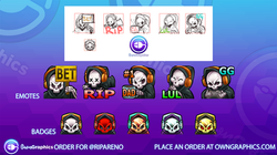 OwnGraphics Order ripareno Emotes
