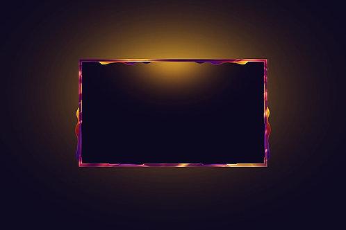 Sunset Camera Frame
