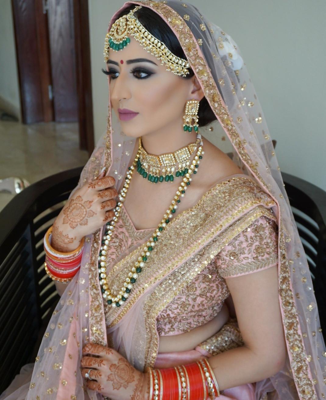 indian bridal makeup calgary   saubhaya makeup