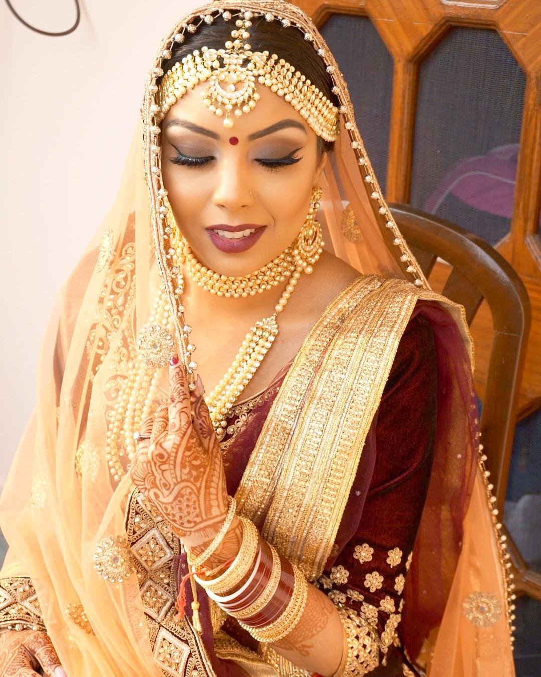 east indian bridal makeup calgary   saubhaya makeup