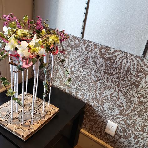 Composition Laine et Dendrobium