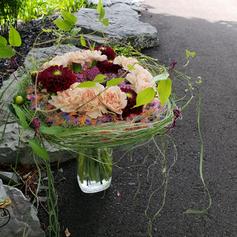 Bouquet Lié Pailles Fondues