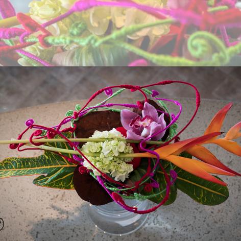 Bouquet Lié Exotique
