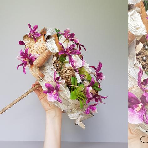 Bouquet de Mariée Écorce