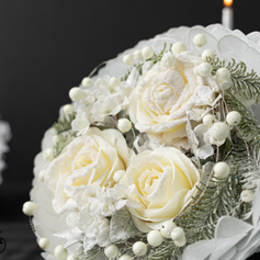 Bouquet pétale blanc