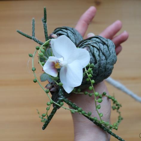 Bouquet coeur miniature
