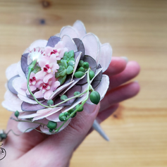 Tiny bouquet rosé