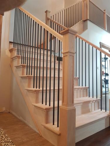 Hardwood Staircase 9